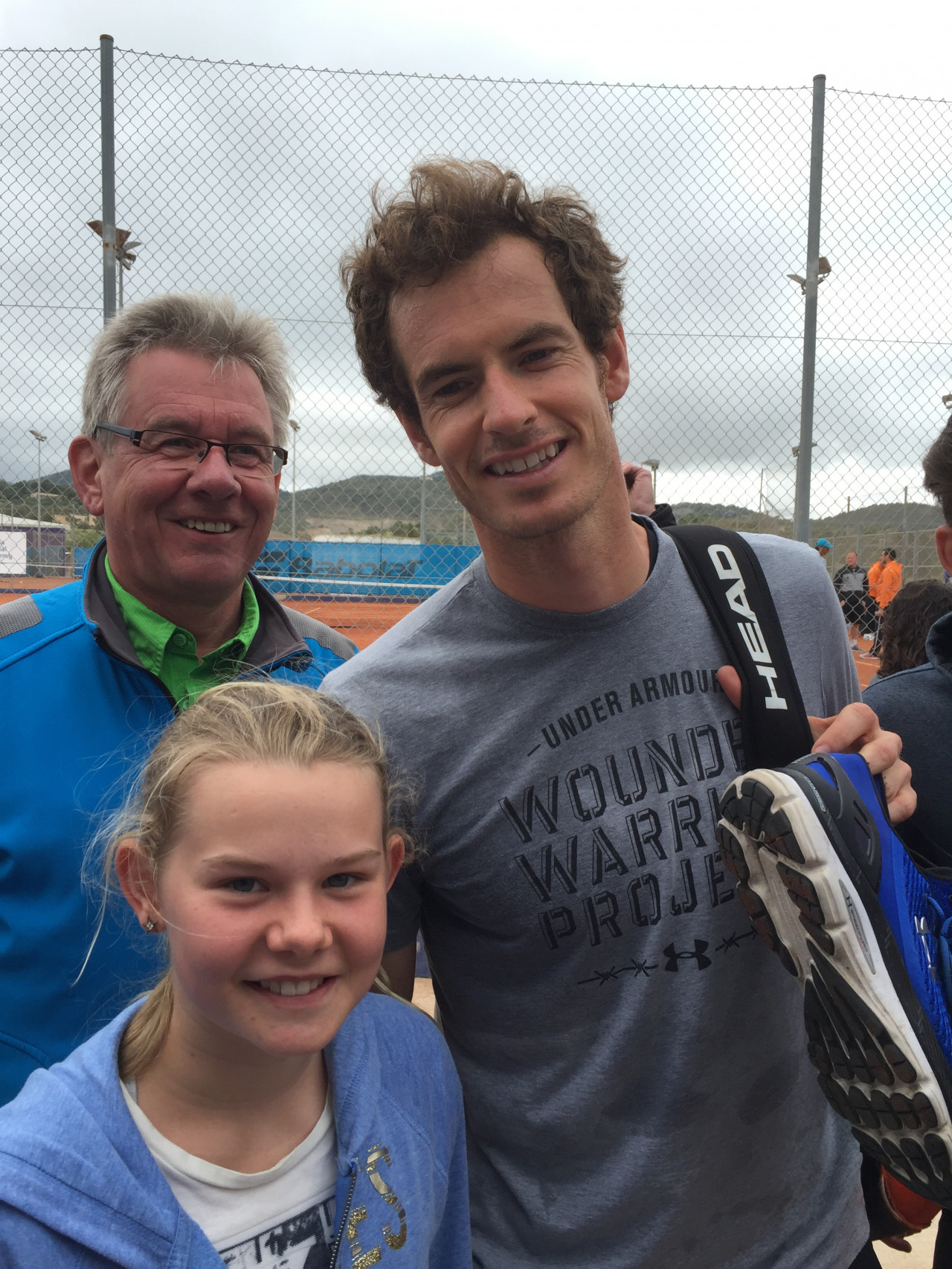 Andy Murray and Sara