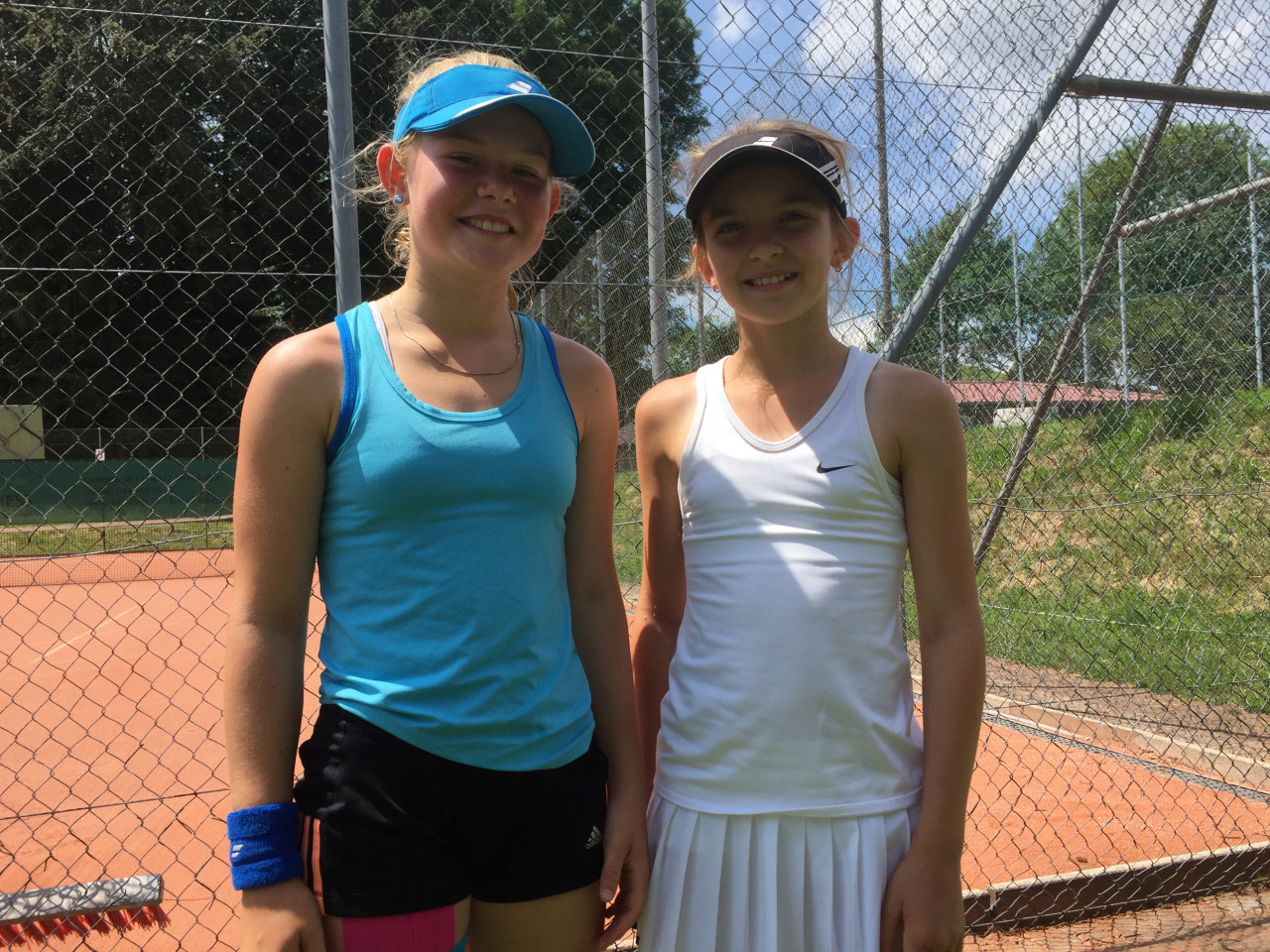 Anastasia and Sara Swiss Junior Trophy 2016