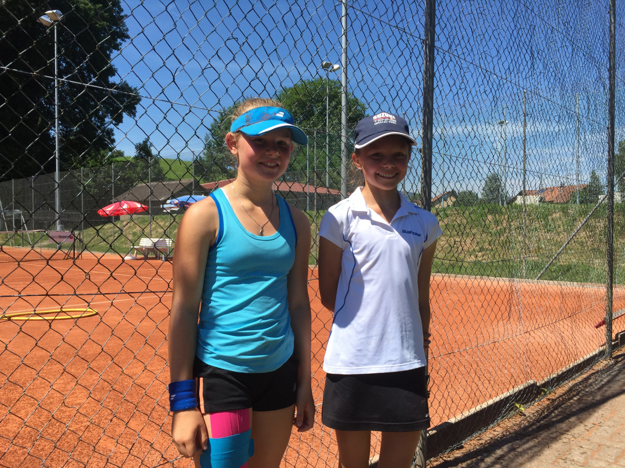 Emelie and Sara Swiss Junior Trophy 2016